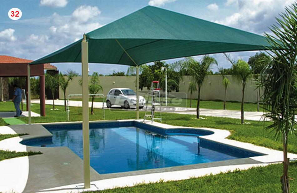 Eclipse cubiertas mallasombra tensoestructuras velarias - Sombrillas para piscinas ...